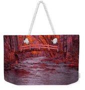 Valley Creek Bridge In Autumn Weekender Tote Bag