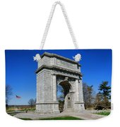 Valley Forge National Memorial Arch Weekender Tote Bag