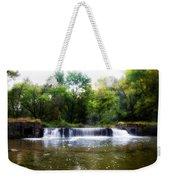 Valley Forge Pa - Valley Creek Waterfall  Weekender Tote Bag
