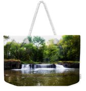 Valley Forge Pa - Valley Creek Waterfall  Weekender Tote Bag