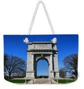 Valley Forge Park Memorial Arch Weekender Tote Bag