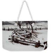 Valley Forge Snow Weekender Tote Bag