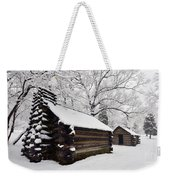 Valley Forge Winter 9887 Weekender Tote Bag
