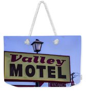 Valley Motel Weekender Tote Bag