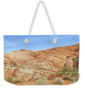 Valley Of Fire - Fire Wave Panorama Weekender Tote Bag