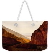 Valley Of Fire Morning Sun Weekender Tote Bag