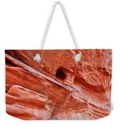 Valley Of Fire Mouse's Tank Sandstone Wall Weekender Tote Bag