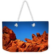 Valley Of Fire Nevada Desert Rock Lizards Weekender Tote Bag