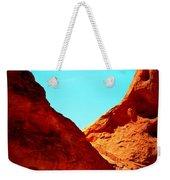 Valley Of Fire Nevada Desert Sand People Weekender Tote Bag