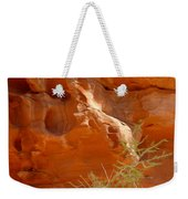 Valley Of Fire Rock Formation Weekender Tote Bag
