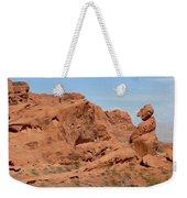 Valley Of Fire Rock Formations Weekender Tote Bag