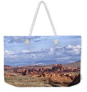 Valley Of Fire Vista Weekender Tote Bag