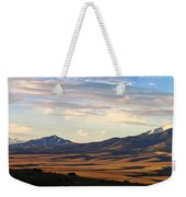 Valley Shadows Snowy Peaks Weekender Tote Bag
