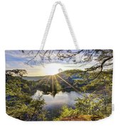 Valley Sunrise Weekender Tote Bag