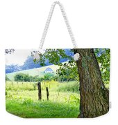 Valley View Along Flat Creek Rd Weekender Tote Bag