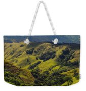 Valleys And Mountains Weekender Tote Bag