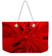 Values In Red Weekender Tote Bag