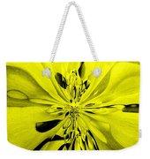 Values In Yellow Weekender Tote Bag