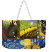 Van Gogh Collage Weekender Tote Bag