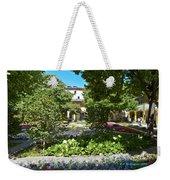 Van Gogh - Courtyard In Arles Weekender Tote Bag
