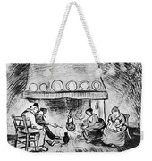 Fireplace, 1889 Weekender Tote Bag