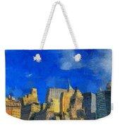 Van Gogh Meets Manhattan Weekender Tote Bag