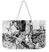 Peasant Hoeing Weekender Tote Bag