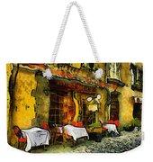 Van Gogh Style Restaurant Weekender Tote Bag