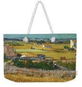 Van Gogh Wheatfield 1888 Weekender Tote Bag