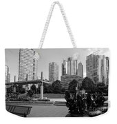 Vancouver Canada Skyscrapers And Park Weekender Tote Bag