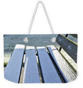 Vancouver Frosty Morning Weekender Tote Bag by Marilyn Wilson