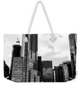 Vancouver Olympic Cauldron- Black And White Photography Weekender Tote Bag