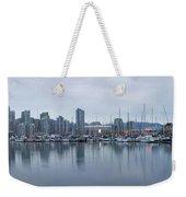 Vancouver Panorama Weekender Tote Bag