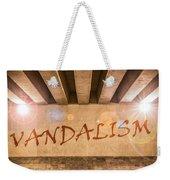 Vandalism Weekender Tote Bag