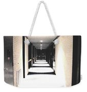 Vanishing Point Weekender Tote Bag
