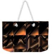 Variations In Brown Weekender Tote Bag