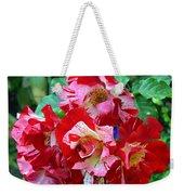 Variegated Multicolored English Roses Weekender Tote Bag