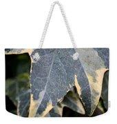 Varigated Ivy Leaves Weekender Tote Bag