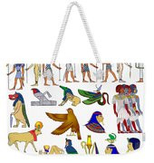 Various Themes Of Ancient Egypt Weekender Tote Bag