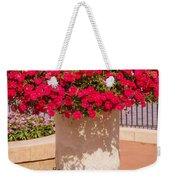 Vase Of Petunias Weekender Tote Bag