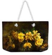 Vase Of Yellow Tulips Weekender Tote Bag