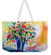 Vase With Flowers Weekender Tote Bag