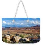 Vast Desert Landscape Weekender Tote Bag