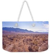 Vast Desolate And Silent - Lyon Nevada Weekender Tote Bag