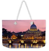 Vatican Twilight Weekender Tote Bag by Brian Jannsen