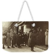 Vaudeville Audience, 1912 Weekender Tote Bag