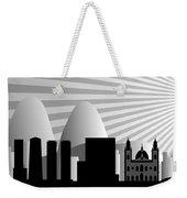vector Rio de Janeiro skyline Weekender Tote Bag