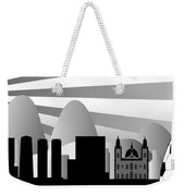 vector Rio skyline with ball Weekender Tote Bag