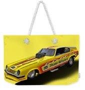 Vega Funny Car Weekender Tote Bag