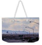 Vegas Cityscape Weekender Tote Bag